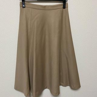 ivory court - 美品 ウール スカート 膝下丈 アイボリーコート