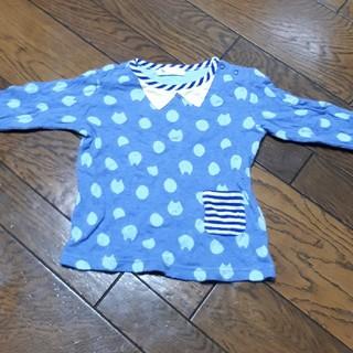 ナルミヤ インターナショナル(NARUMIYA INTERNATIONAL)のベイビーチアー 長袖シャツ(Tシャツ/カットソー)