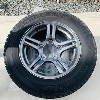 スズキ(スズキ)のジムニーJB23  純正ホイール+ジオランダー スタッドレスタイヤ 4本セット(タイヤ・ホイールセット)