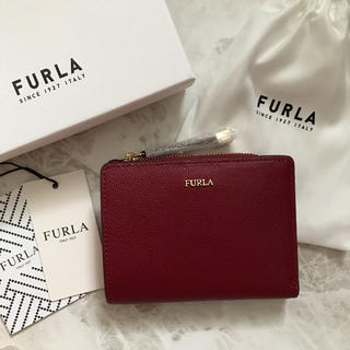 フルラ(Furla)の新品!フルラ FURLA 二つ折り財布 赤 レッド ピンク(財布)
