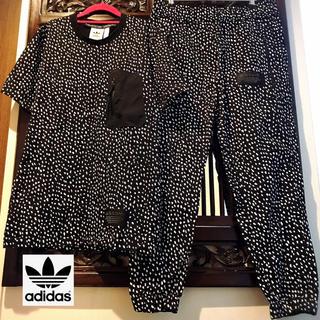 adidas - アディダス ダルメシアン Tシャツ パンツ 上下 セットアップ レオパード ML