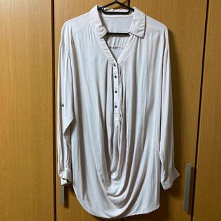 ミスティウーマン(mysty woman)のmysty woman ゆるシャツ ブラウス(シャツ/ブラウス(長袖/七分))