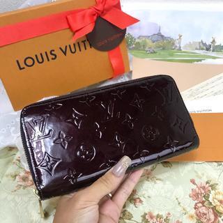 LOUIS VUITTON - 未使用にちかいよりのお得な長財布✨保証書付✨ルイヴィトン D1635