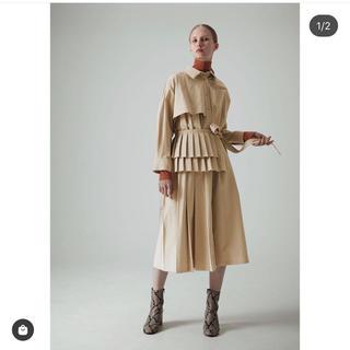 LE CIEL BLEU - 19aw プレートベルトシャツドレス