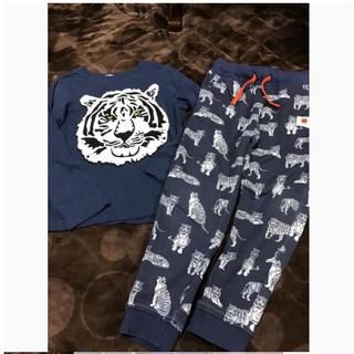 H&M - 130サイズ 長袖 長ズボン パジャマ セットアップ