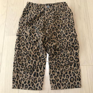 DENIM DUNGAREE - デニム&ダンガリー サルエル レオパード柄 パンツ 120cm
