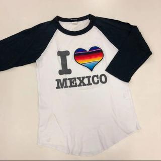 ビームス(BEAMS)のメキシコ ラグランTシャツ 七分袖(Tシャツ(長袖/七分))