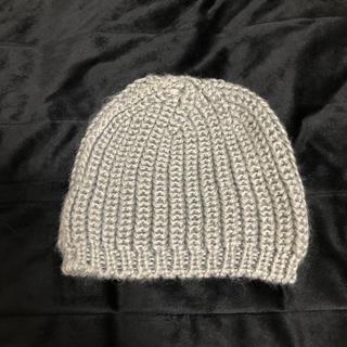 エイチアンドエム(H&M)のグレー ニット帽 H&M(ニット帽/ビーニー)