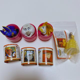 カイヨウドウ(海洋堂)のチョコエッグ ディズニー 美女と野獣 ベル フィギュア(キャラクターグッズ)