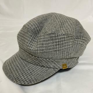 ミラオーウェン(Mila Owen)のフェミニンなキャスケット帽子(キャスケット)
