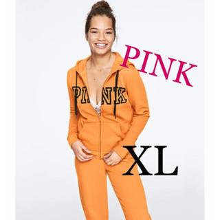 Victoria's Secret - ヴィクトリアシークレット新品パーカーXLオレンジ