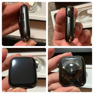アップルウォッチ(Apple Watch)のApple Watch 5 GPS 44mm NIKE スペースグレイ 美品(その他)