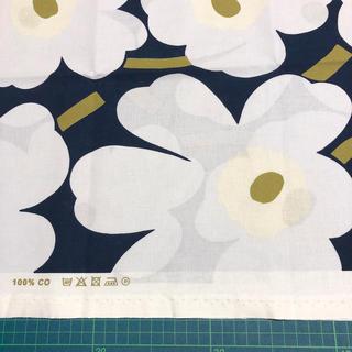 marimekko - 新色 マリメッコ 生地 ピエニウニッコ ダークブルー 日本限定