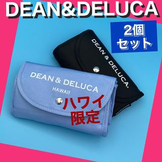 ディーンアンドデルーカ(DEAN & DELUCA)のDEAN&DELUCA エコバッグ 限定ハワイ版+日本ノーマル版の2個セット(エコバッグ)