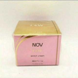 ノブ(NOV)のNOV L&W エンリッチクリーム 美白クリーム(フェイスクリーム)