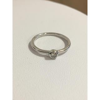 ダイヤモンドリング Pt900 新品 即発送可能(リング(指輪))