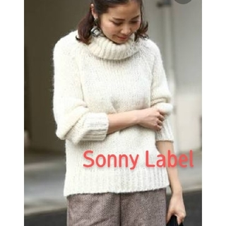 サニーレーベル(Sonny Label)の【Sonny Label】ロービングタートルニットプルオーバー(ニット/セーター)