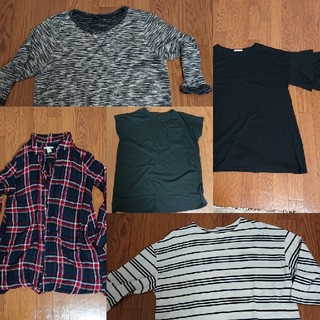 ギャップ(GAP)のお得なセット5点まとめて(Tシャツ(長袖/七分))
