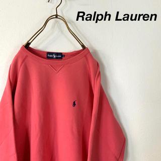 ラルフローレン(Ralph Lauren)の90's Ralph Lauren vガゼット ワンポイント刺繍  スウェット(スウェット)