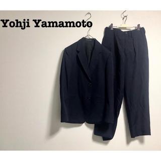 Yohji Yamamoto - Yohji Yamamoto HOMME セットアップ ジャケット モード 古着