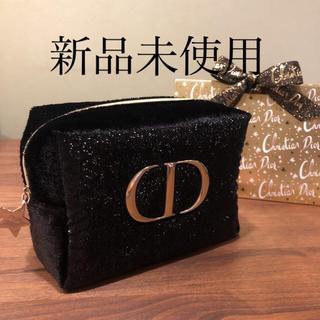 Dior - Dior クリスマス ポーチ 黒 ディオール