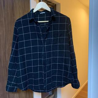 GU - GU 秋冬 チェックシャツ XL