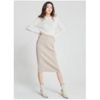 dholic - 【新品タグ付】DHOLIC イージーアクリルニットスカート