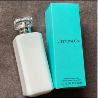 ティファニー(Tiffany & Co.)のティファニー ボディーローション 200ml 即日発送(ボディローション/ミルク)