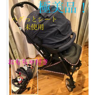 Pigeon - ピジョン★ランフィ/軽い ハイシートベビーカー/4輪キャスター