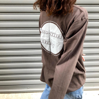 ロンT (チャコール)(Tシャツ/カットソー(七分/長袖))