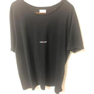 Saint Laurent - SAINT LAURENT PARIS ロゴ Tシャツ