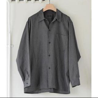 COMOLI - 20aw COMOLI ヨリ杢 オープンカラーシャツ