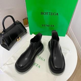 Bottega Veneta - ボッテガヴェネタ ショートブーツ クリア
