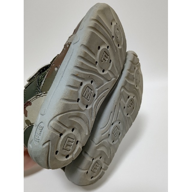 BREEZE(ブリーズ)のBREEZE IFME ブリーズコラボ 水陸両用サンダル キッズ/ベビー/マタニティのキッズ靴/シューズ(15cm~)(サンダル)の商品写真