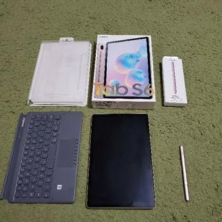 ギャラクシー(Galaxy)のGalaxy tab S6 SM-T865N LTEモデル 美品(タブレット)