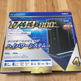 NEC PA-WG2600HS  Wi-Fiルーター