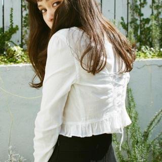 EDIT.FOR LULU - シャルルシャトン ブラウス high laced blouse