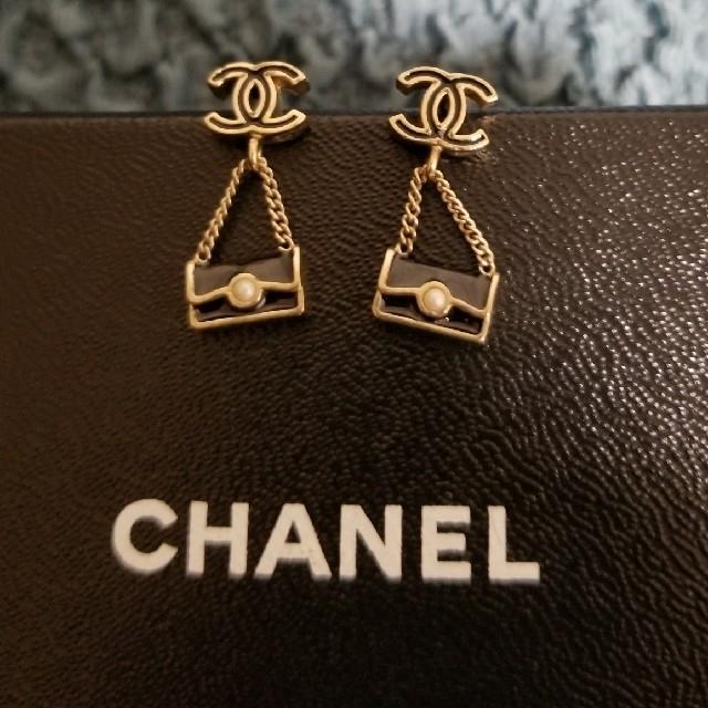 CHANEL(シャネル)のCHANELチェーンバッグピアス レディースのアクセサリー(ピアス)の商品写真
