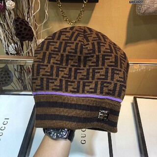 フェンディ(FENDI)のフェンディ ニット帽(ニット帽/ビーニー)