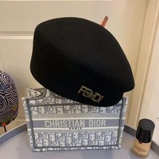 フェンディ(FENDI)のフェンディ ベレー帽(ハンチング/ベレー帽)