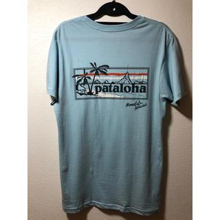 patagonia - Patagonia パタゴニア パタロハ Tシャツ ハワイ ライトブルー