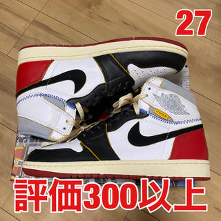 NIKE - Union Air Jordan 1 Retro High Black Toe