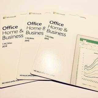 マイクロソフト(Microsoft)のOffice 2019 for PC/Mac 1台(PC周辺機器)