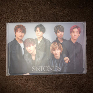 Johnny's - SixTONES 会員証ケース