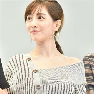 スナイデル(snidel)の〜7日》キャンセル分1着❤︎アシンメトリーボタンニットワンピース(ロングワンピース/マキシワンピース)
