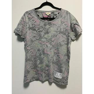 ディーゼル(DIESEL)のDIESEL 総柄Tシャツ(Tシャツ/カットソー(半袖/袖なし))