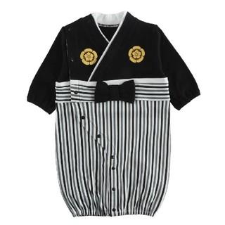 [新品!袴型2wayオール 50〜70センチ](和服/着物)