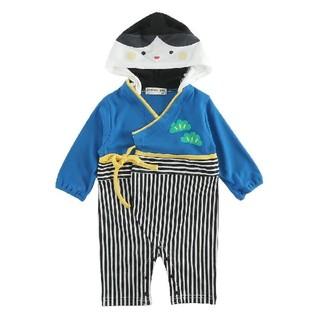 [新品!キッズ♪袴型カバーオール(お内裏様) 80センチ](和服/着物)