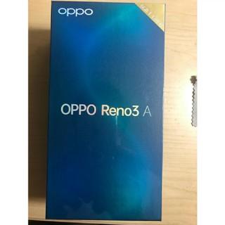 アンドロイド(ANDROID)のOPPO Reno3 A ホワイト【日本正規代理店品】 CPH2013 WH(スマートフォン本体)