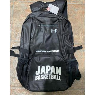 UNDER ARMOUR - 【新品未使用】バスケ日本代表JAPAN バックパック